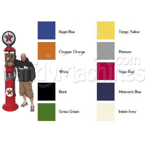 Giant Gas Pump Gumball Machine - 7' 6""