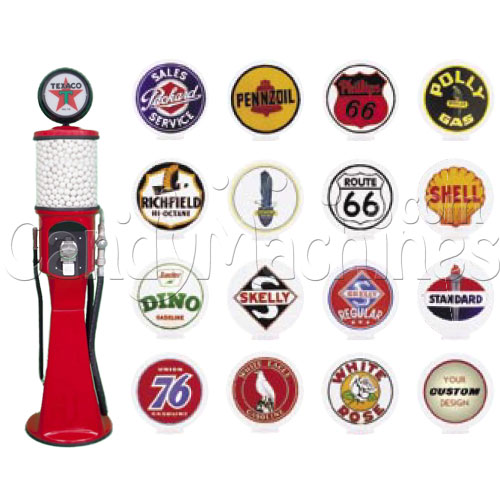 Junior Gas Pump Gumball Machines - 5' 4""
