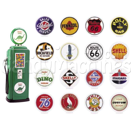 Tokheim 39 Gas Pump Gumball Machine Globe Options
