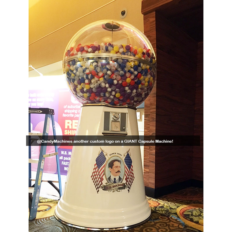 Giant Gumball Machine with Custom Logo