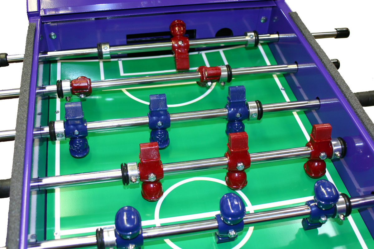 Foos ball Soccer Interactive Gumball Machine Game