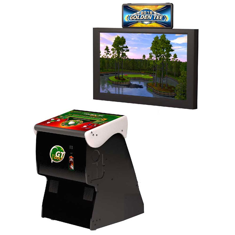 Golden Tee Golf Home Arcade Game without Monitor Stand