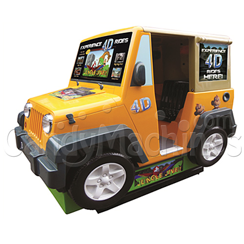 Jungle Jive Jeep Simulator Ride