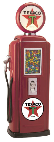 Tokheim 39 Texaco Gas Pump Gumball Machines