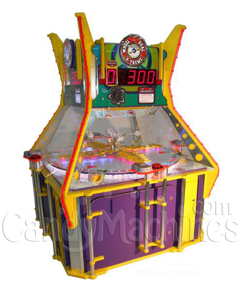 Wheel Deal Xtreme Twin Wheel Game - Ticket Redemption (Factory Reconditioned)