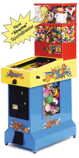 Xtreme Sports Blaster Vending Machine
