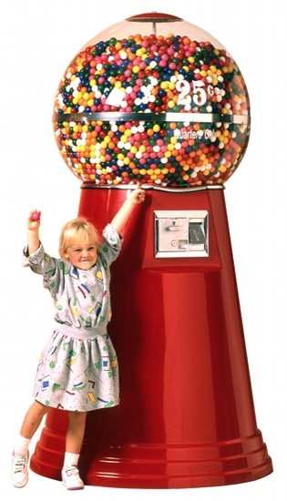 Big Mama Giant Gumball Machine