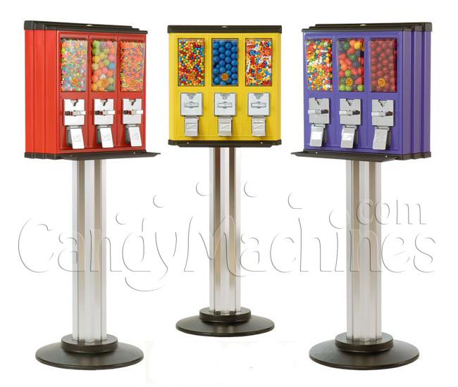 Northwestern Triple Vending Machine - Click Here To Buy!