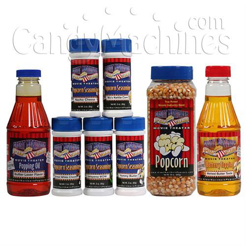 popcorn machine kits