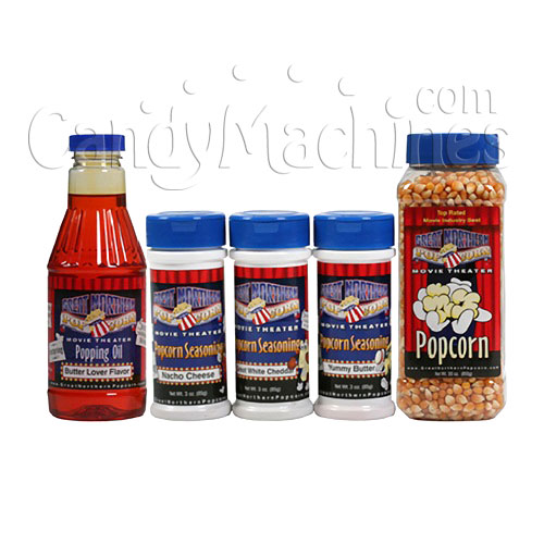Theater Style Gourmet Popcorn Popping Kit