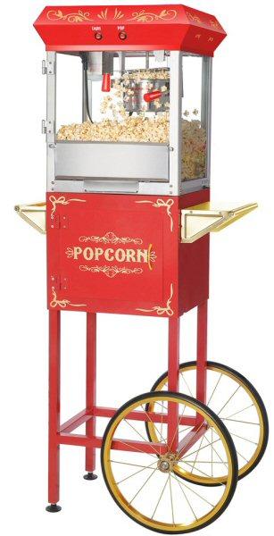 Buy Foundation Popcorn Machine - 4 oz. with Cart - Vending ...