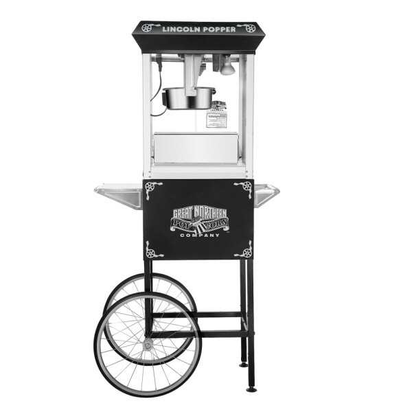 lincoln popcorn machine