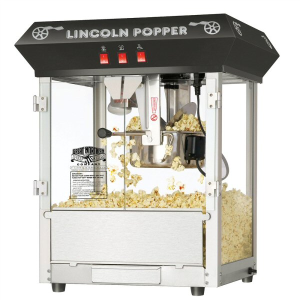Lincoln Antique Popcorn Machine - 8 oz.