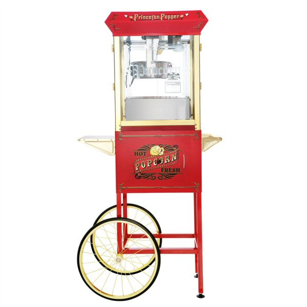 Princeton Antique Popcorn Machine - 8 oz. with Cart
