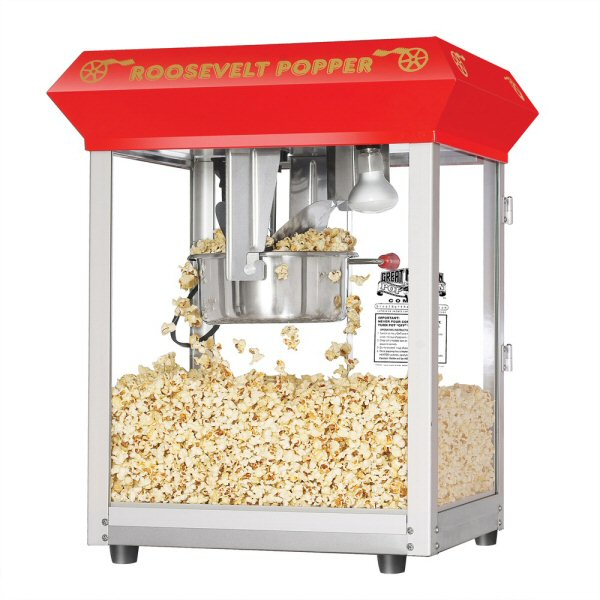 buy roosevelt antique popcorn machine 8 oz vending machine supplies for sale. Black Bedroom Furniture Sets. Home Design Ideas
