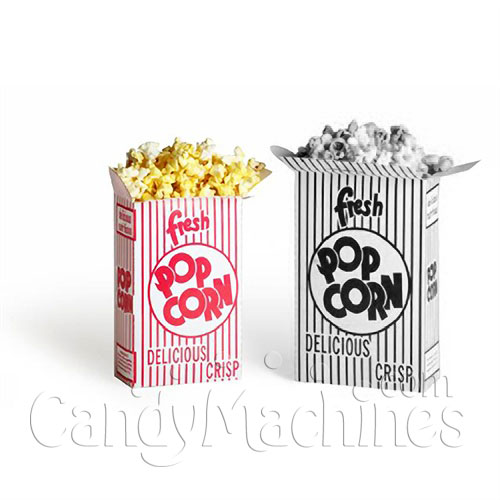 Movie Theater Popcorn Boxes, .75 Oz. - 100 ct.