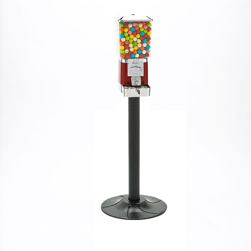 Rhino Pro Metal Gumball and Candy Vending Machines with Stand