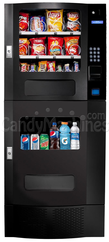 combo snack and soda vending machine