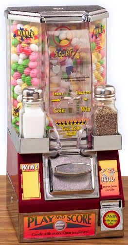Small Candy Coin Shooter