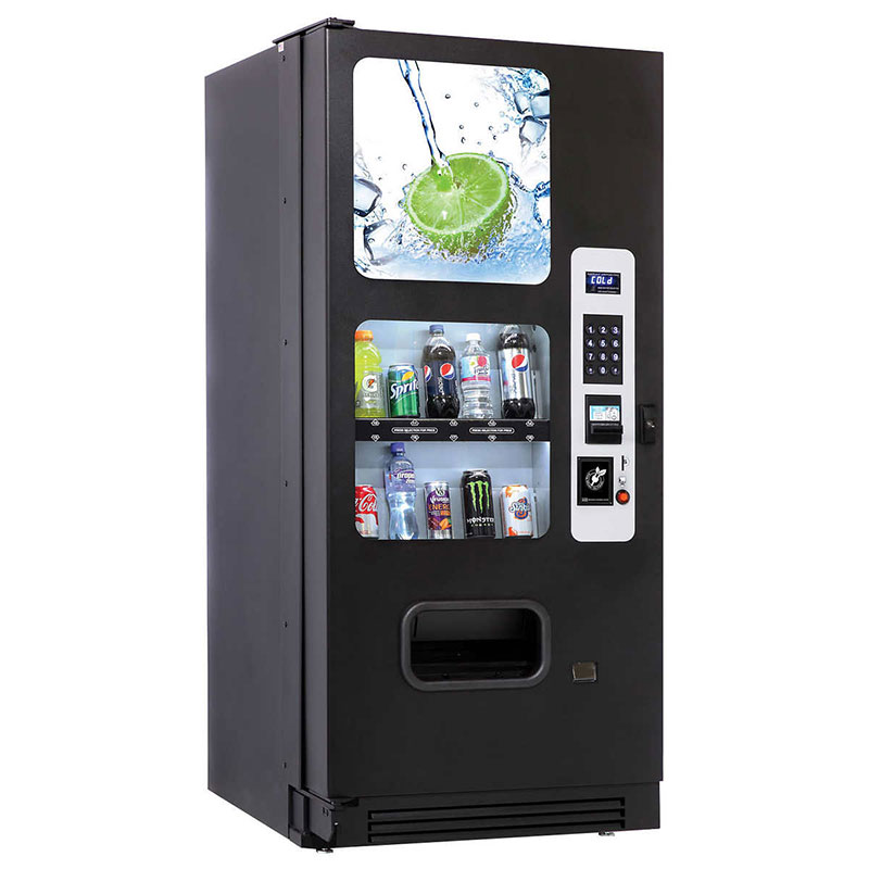 CB500 Cold Drink Vending Machine - Side View