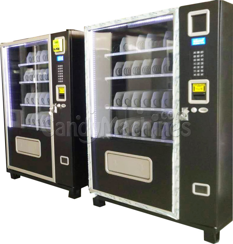 Snack and Soda Commercial Vending Machine with Credit Card Reader