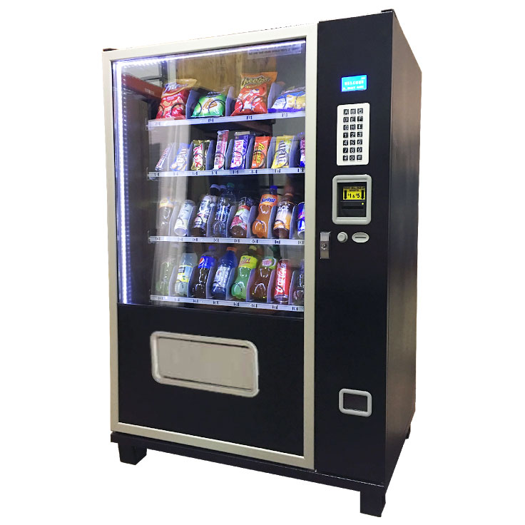 Snack and Soda Commercial Vending Machine