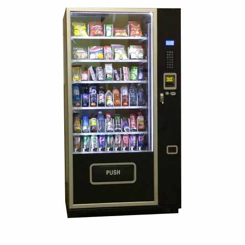 Glass Front Snack and Soda Vending Machine