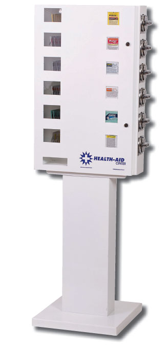 Health-Aid Vending Machine Stand