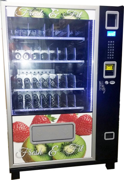 Healthy Vending Snack and Soda Machine