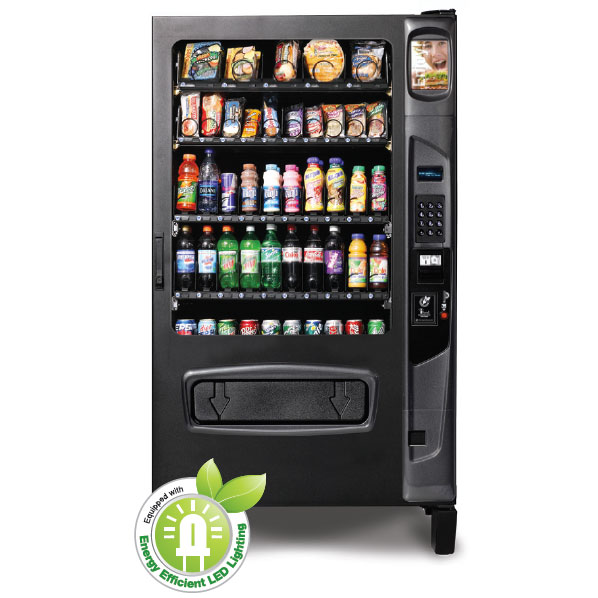 Refrigerated Snack and Soda Vending Machine (45 Selections)