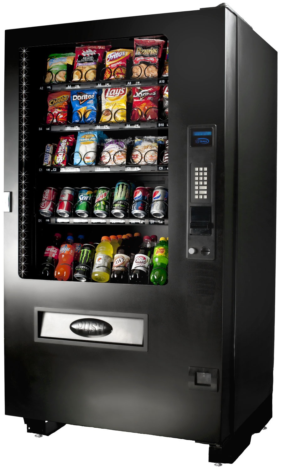 buy seaga infinity inf5c snack and soda vending machine. Black Bedroom Furniture Sets. Home Design Ideas