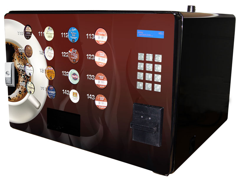 Single Serve Coffee Pod Vending Machine