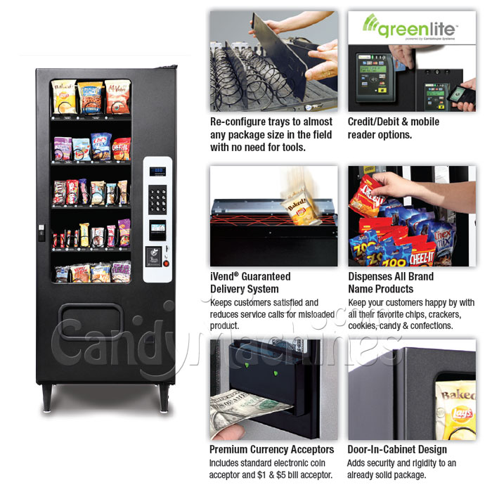 Snack Vending Machine 40 Selection Options