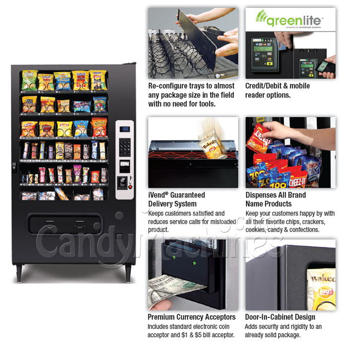 Snack Vending Machine 40 Selection