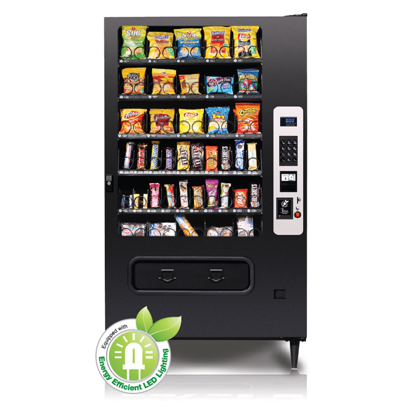 Seaga Infinity Soda Machine - Infinity INF5BSnack Vending Machine 40 Selection