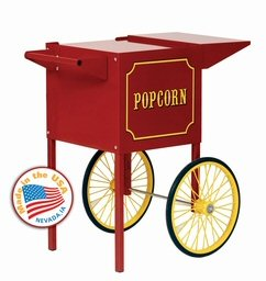 Small Popcorn Machine Cart