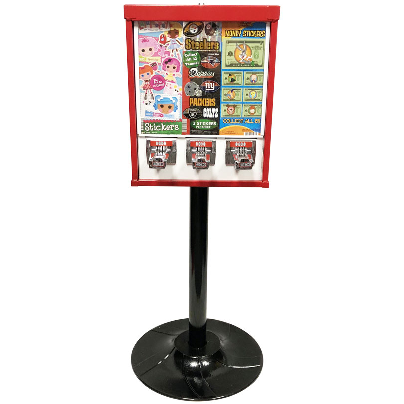 Eagle Sticker and Tattoo Vending Machine