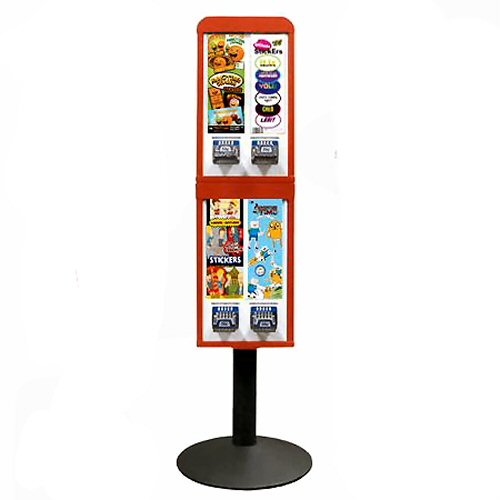Sticker and Tattoo Vending Machines - 4 Stacked