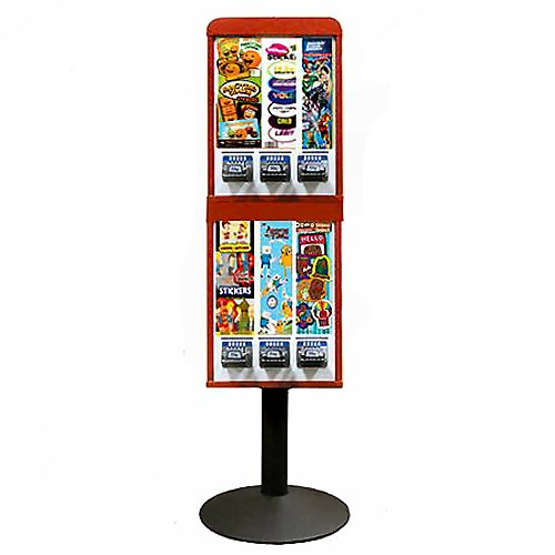 Sticker and Tattoo Vending Machines - 6 Stacked