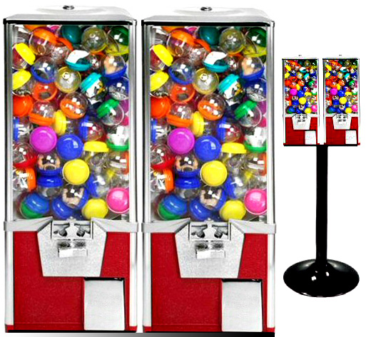 SuperPro 2 Double Toy Capsule Vending Machine