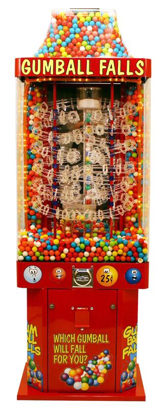 Tracker Gumball Vending Machine