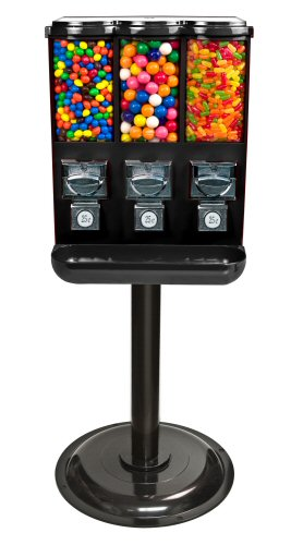 Triple Time Gumball and Candy Vending Machine