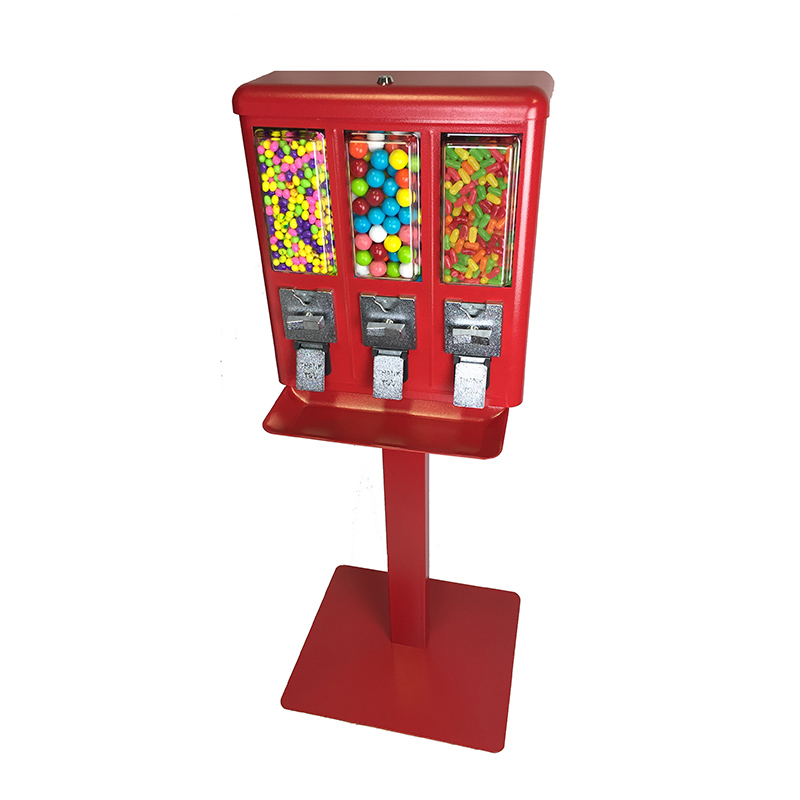 Triple Candy Vending Machine