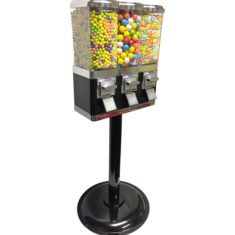 Triple Canister Vending Machine