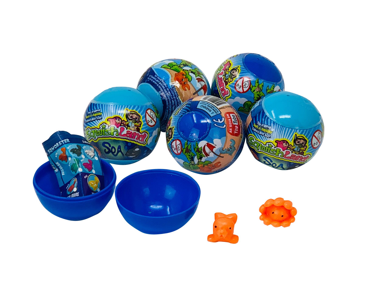 Sqwishland Sea Surprise 2 Inch Toy Capsule