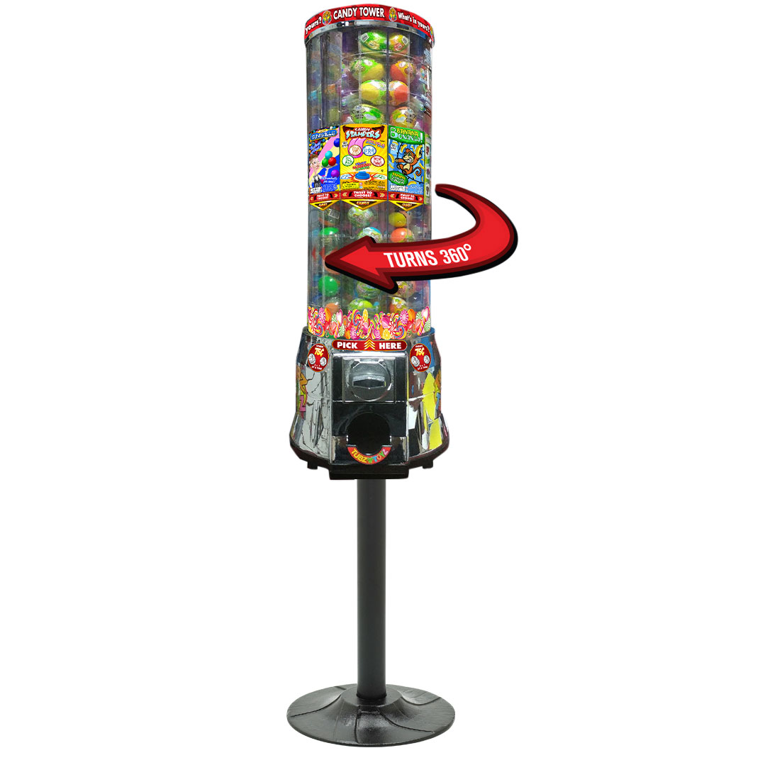 Tubz Candy Capsule Tower Vending Machine