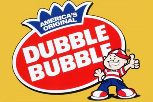 Dubble Bubble Gumballs Vending Machine Label