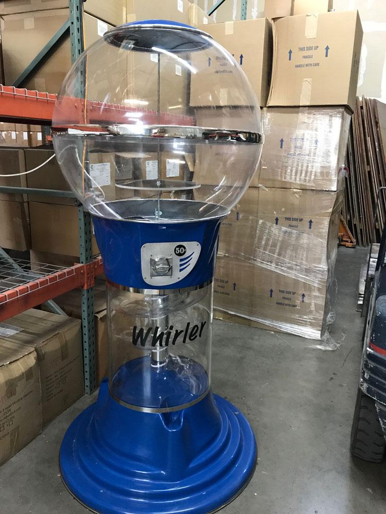 buy blue mega wizard spiral 2 inch toy capsule vending machine vending machine supplies for sale. Black Bedroom Furniture Sets. Home Design Ideas