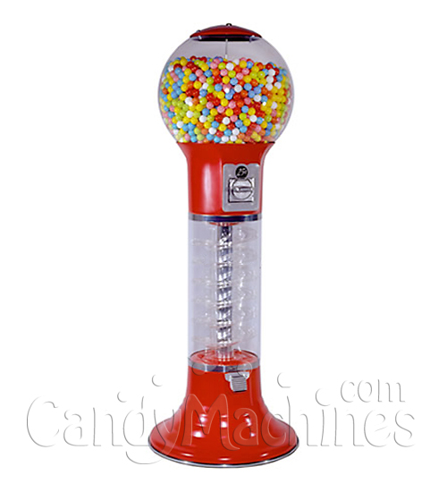Wizard Global Gumball Machines Red