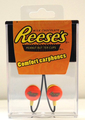 Reese's Peanut Butter Cups Earbuds